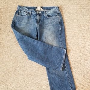 Lucky Brand Classic Rider Crop Denim 8/29